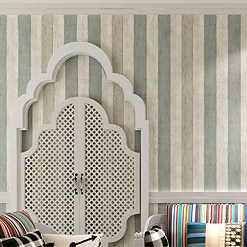 lsaiyy Schlafzimmer umweltfreundliche Vlies Selbstklebende klebrige Tapete Tapete Schlafsaal Wohnzimmer Kinderzimmer Tapete-53CMX3M