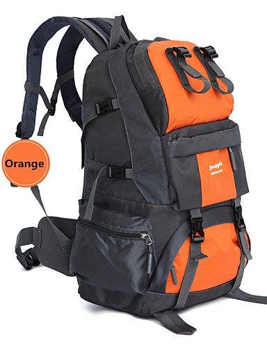 ZQ 50L L Tourenrucksäcke/Rucksack Camping & Wandern / Angeln / Klettern / Jagd / Reisen / Notfall / Radsport OutdoorWasserdicht / Schnell Orange