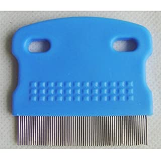Accmart Pets Dog Cat Toothed Flea Comb Cleaning Grooming Brush Hair Tool With Random Color