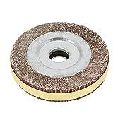 Schleifscheibe Räder, Metallklappe Polierscheibe Schleifscheibe Räder Schleifer Schleifen Polierwerkzeug Durchmesser 150mm<br/>