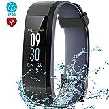 HOMSCAM Fitness Tracker Orologio Smartwatch Cardiofrequenzimetro da Polso Schermo a Colori Impermeabile IP68...