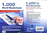 1.000 Word-Mustertexte - Für zu Hause und fürs Büro -