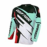 Uglyfrog Bike Wear Herren Downhill/MTB Jersey Mountain Bike Shirt Fahrradtrikot Langarm Freeride BMX Fr¨¹Hling Top
