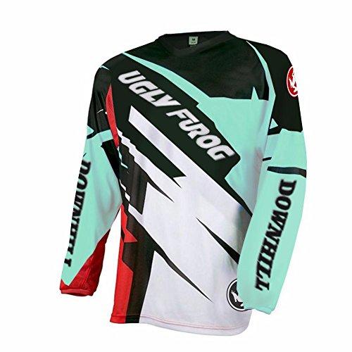 Uglyfrog 2018-2019 Neueste MTB Lange Ärmel Jersey Frühlingsart Motocross Mountain Bike Downhill Shirt Herren Sportbekleidung Kleidung