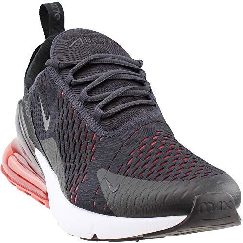 hot sale online 8f48b ea84b NIKE Air Max 270 Men s Shoes Oil Grey Habanero Red ah8050-013 (9.5