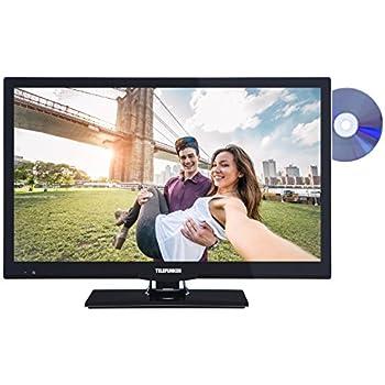 Telefunken XF22A101D 56 cm (22 Zoll) Fernseher (Full HD, Triple Tuner, DVD-Player) schwarz