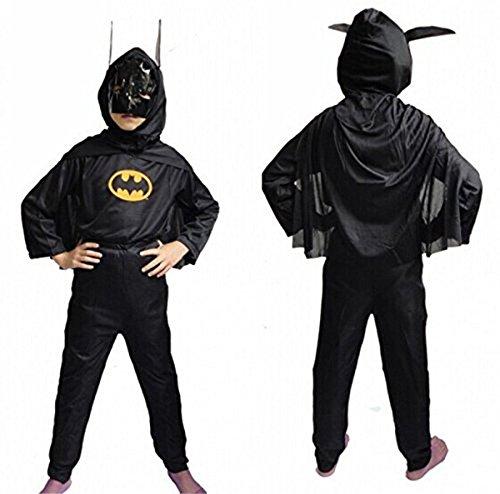 Theme My Party Batman Dress For Kids (6-8 Years)
