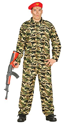 Fiestas Guirca Soldat Tarnung Kostüm