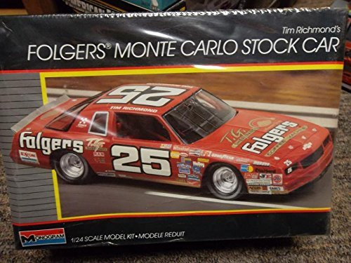 tim-richards-folgers-monte-carlo-stock-car-1-24-scale-model-plastic-kit