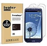 iVoler [Pack de 2] Verre Trempé Compatible avec Samsung Galaxy S3 / S3 Neo [Garantie à Vie], Film Protection en Verre trempé écran Protecteur vitre (0,3mm HD Ultra Transparent)