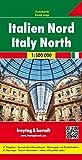 Italien Nord, Autokarte 1:500 000, Freytag Berndt Autokarten, - Freytag-Berndt und Artaria KG