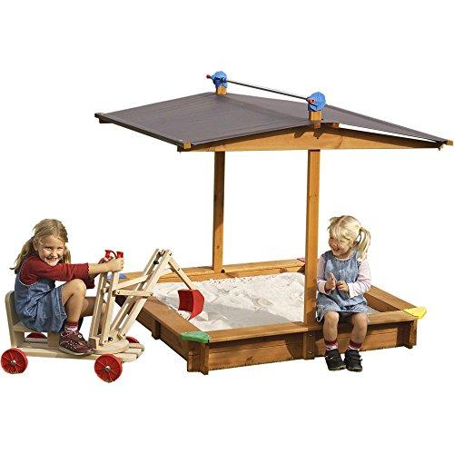 WICKEY Sandkasten Mickey mit Dachlift