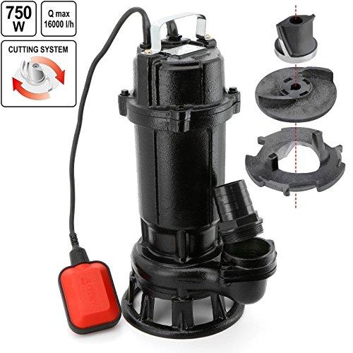 Flo 79883–schmutzigen Wasserdicht Wasserpumpe 750W/Flo/mit Schneidesystem