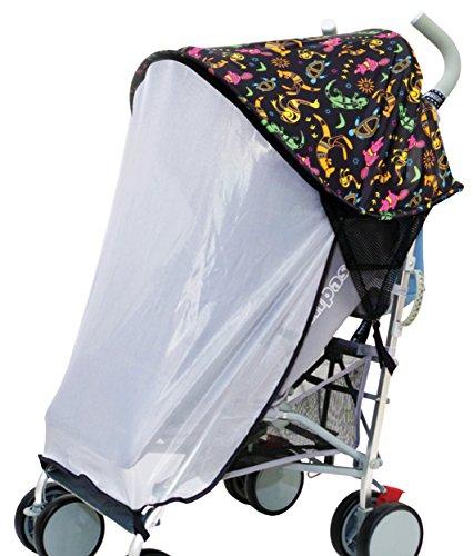 Dreambaby Extenda-Shade Pare-soleil/ Protection solaire pour poussette avec moustiquaire
