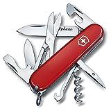 Coltellino svizzero Climber 14 funzioni - Rosso - Personalizzato con nome