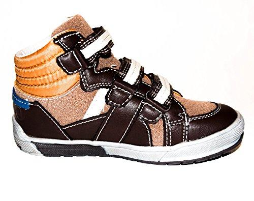 TMY stylische und trendige Sneaker für Jungen in Braun, Gr. 25-30 Braun