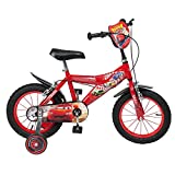 Vélo pour Enfant - Cars - Garçon - 14 pouces - 4 à 7 ans