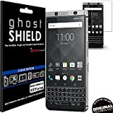 TECHGEAR Protection Écran pour Blackberry KEYone [ghostSHIELD] Film de Protection Souple en TPU avec Protection Totale de l'Écran Compatible pour Blackberry KEYone [Protection 3D Bords Incurvés]
