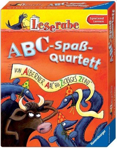 """Leserabe - Sonderausgaben: ABC-Spaß-Quartett: Von """"alberner Aal"""" bis """"zickiges Zebu"""""""