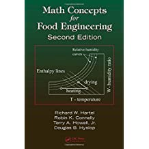 Math Concepts for Food Engineering, Second Edition by Hartel, Richard W., Hyslop, D.B., Connelly, Robin K., Howell (2008) Paperback