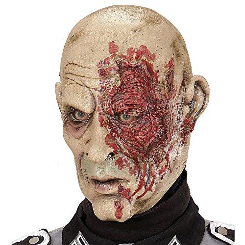 WIDMANN vd-wdm00506Máscara Cabeza Completa Zombie generales, multicolor, talla única