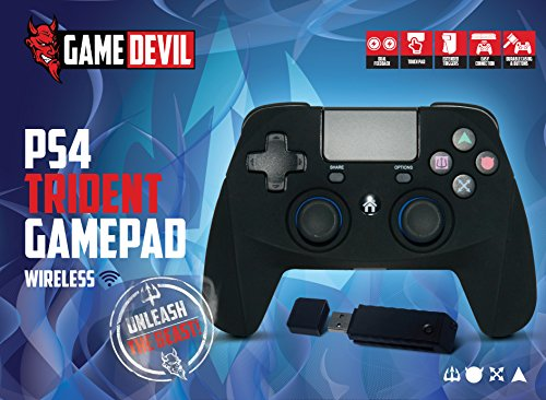 game-devil-trident-gamepad-controller-fur-playstation-4-ps4-wireless-kabellos