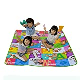Vovotrade Alfombra de juego de picnic para bebés 200 * 180 * 0,5 cm (G)