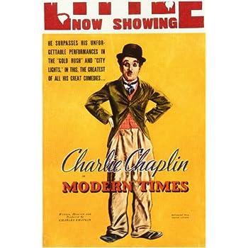 3ecb5713a17ba9 Modern Times Affiche du film Poster Movie Temps modernes (11 x 17 In - 28cm