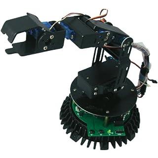 Arexx Roboterarm Bausatz RA2-MINI Ausführung (Bausatz/Baustein): Bausatz