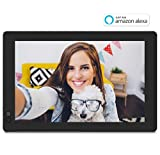 NIXPLAY Seed Digital Photo Frame WiFi 10 inch Widescreen W10B. Show Photos on your frame via Mobile App or Email. Displays HD Pictures and Videos. Smart Picture Frame with Motion Sensor