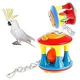 Weishazi, giocattolo da masticare per uccelli, pappagalli, gabbia, calopsitte, parrocchetti