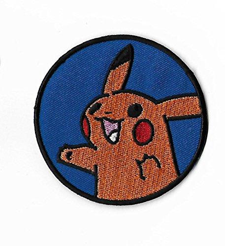 h Embroidered Iron on Badge Aufnäher Kostüm Fancy Kleid Pokémon Cosplay (Cool Pokemon Kostüme)