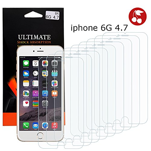 Apple iPhone 6 Handyhülle inklusive Displayfolie & Touchstift USA 6x Displayschutzfolie