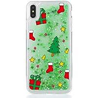 Yobby Flüssig Glitzer Hülle für Samsung Galaxy S8, Samsung Galaxy S8 3D Kreativ Muster Handyhülle [Weihnachten... preisvergleich bei billige-tabletten.eu