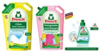 COMBO LAUNDRY MULTI PACK(Pomegranate Liquid Detergent-1800ml, Citrus Liquid Detergent-1800ml & Active Stain Remover Stick-75ml)