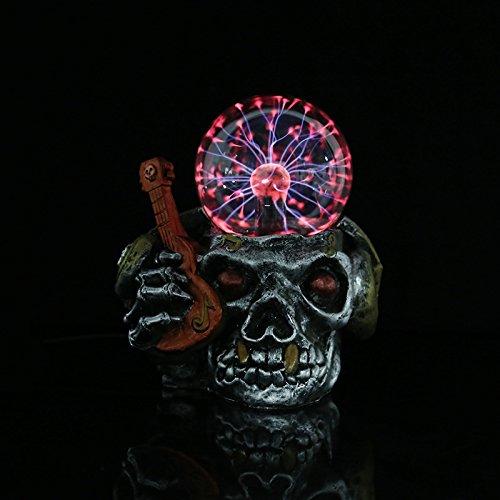 JinRou character design resina dello scheletro di artigianato artigianato bambola statico luce spot dei mestieri di resina , Chitarra