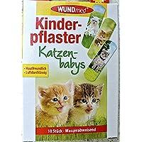 WUNDmed® 02-113 Pflaster 10 Stück Motiv-Pflaster Kinderpflaster (Katzen) preisvergleich bei billige-tabletten.eu