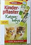 WUNDmed® 02-113 Pflaster 10 Stück Motiv-Pflaster Kinderpflaster (Katzen)
