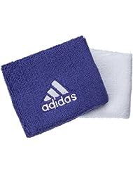 Adidas tennis de la sueur Bandes–Lot de 2–Blanc/Violet