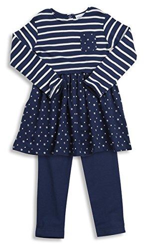 Lora Dora Girls 2 Piece Outfit Set Tunic Dress Top + Leggings Clothing Kids Size UK 2-6 Years