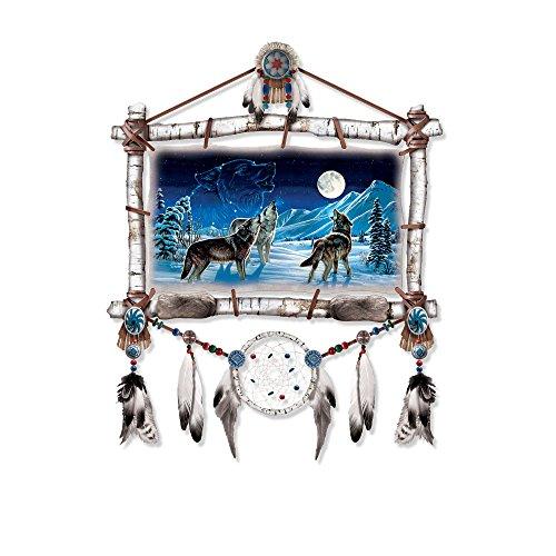 Sternenlicht-Serenade - Handgefertigter, im Dunkeln leuchtender Wandschmuck -