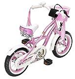 BIKESTAR® Premium Kinderfahrrad ★ 12er Deluxe Cruiser Edition ★ Glamour Pink - 4
