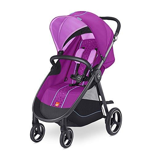gb Gold Biris Air 4, Kinderwagen (bis 17 kg), posh pink (Posh Pink In)
