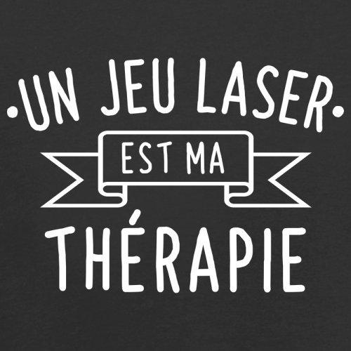 Un jeu laser est ma thérapie - Femme T-Shirt - 14 couleur Noir