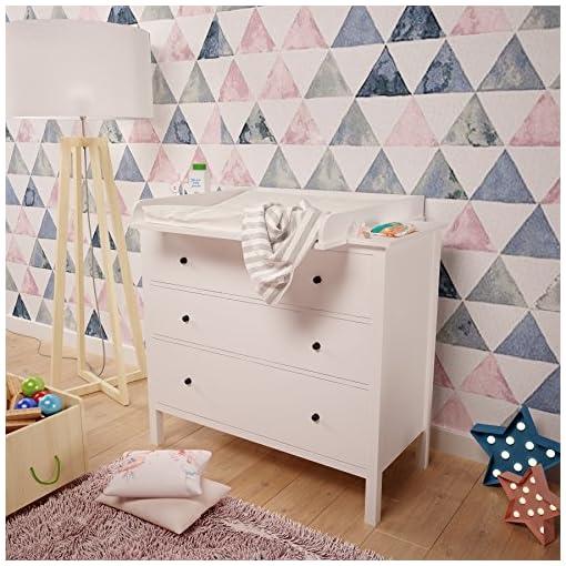Polini Bambini Fasciatoio Per Como Hemnes Ikea In Bianco 1412 9