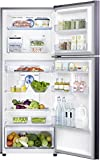 Samsung 394 L 3 Star Frost Free Double Door Refrigerator(RT39M5538UT/TL, Pebble Blue, Convertible)