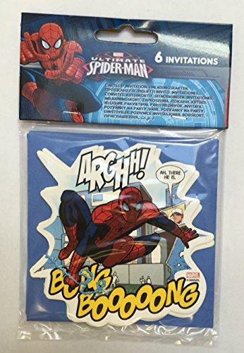 (Offizielle Spiderman Partygeschirr-Serie (verschiedene Partyartikel zur Auswahl Ideal für alle Partys und Feiern!)