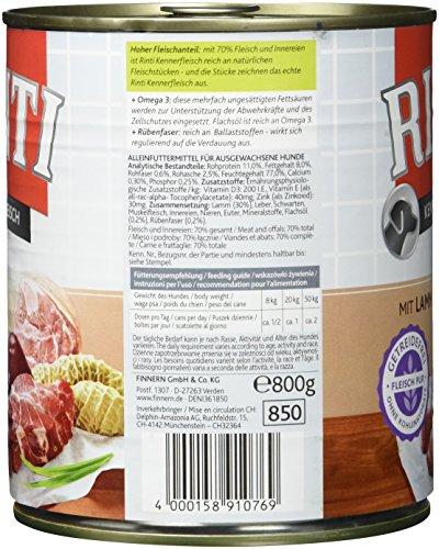 Rinti Lamm, 12er Pack (12 x 800 g) - 5