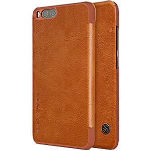 Nillkin Qin Series Royal Leather Flip Cover for Xiaomi Mi 6 -Brown