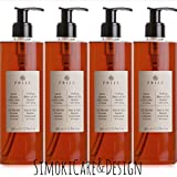 Prija Haut & Haarshampoo mit Ginseng 4x 380 ml Duschgel Hair & Body Flakon 4x Pumpspender